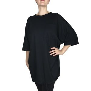 NWT Weekday MTWTFSS Oversized Ribbed T-shirt XS